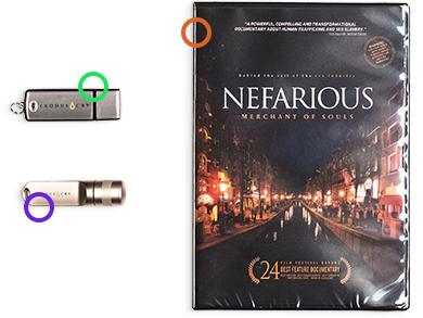 Nefarious DVD • Teachings