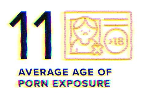 11: Average age of porn exposure