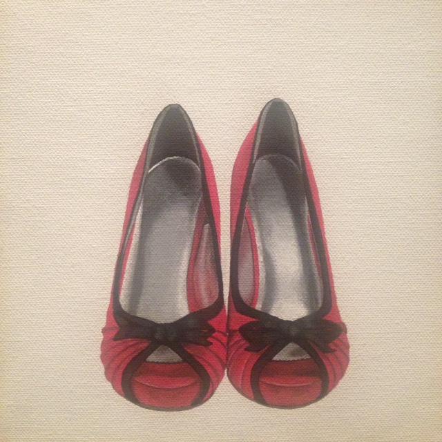 pinkpaintedshoes