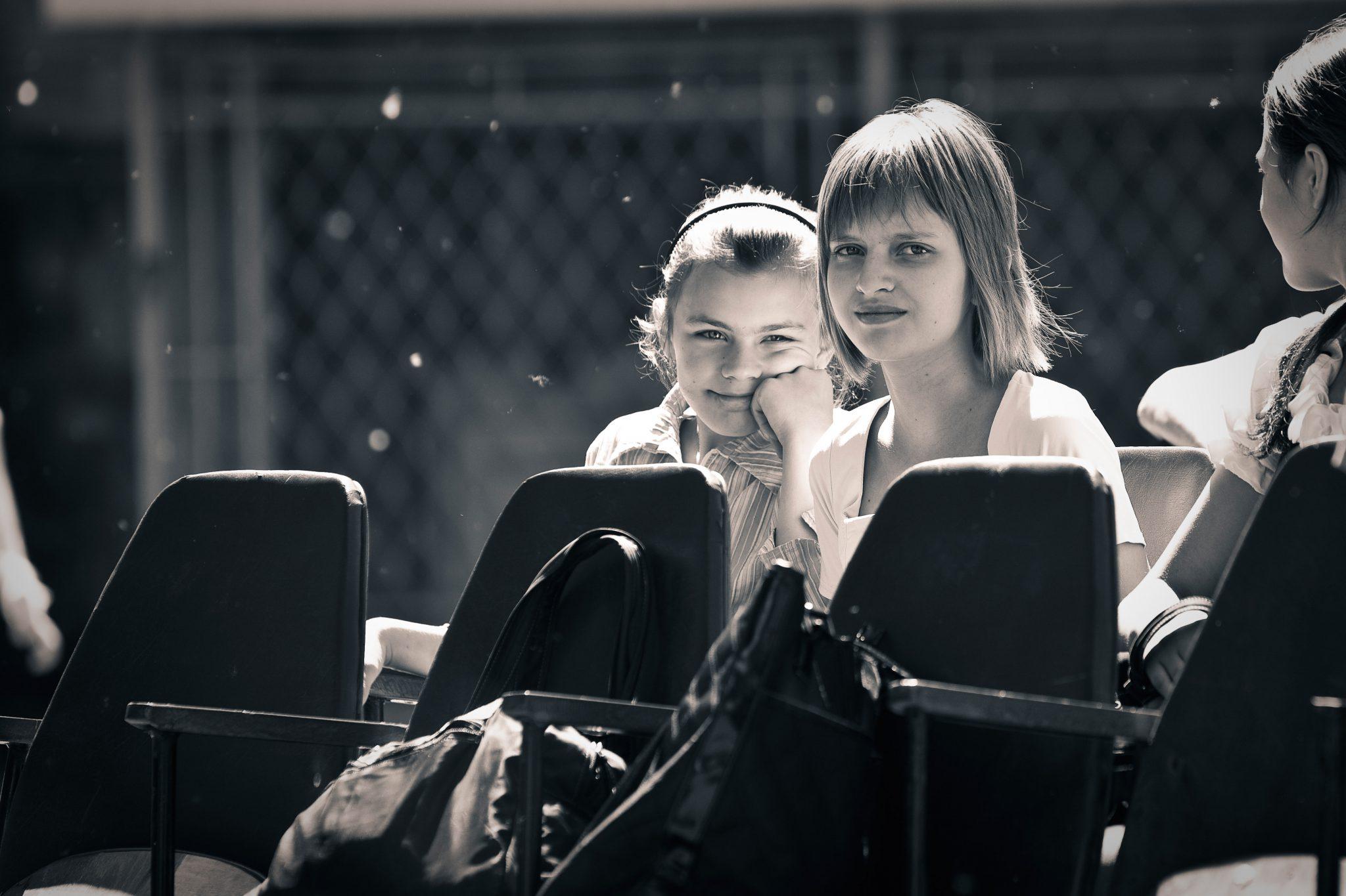 Girls in Chisinau
